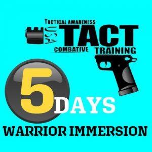 2 days Warriors Immersion Tactopsusa