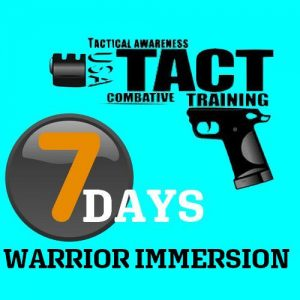 7 days Warriors Immersion Tactopsusa