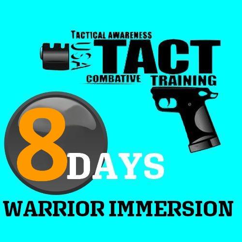8 days Warrior Immersion Tactopsusa
