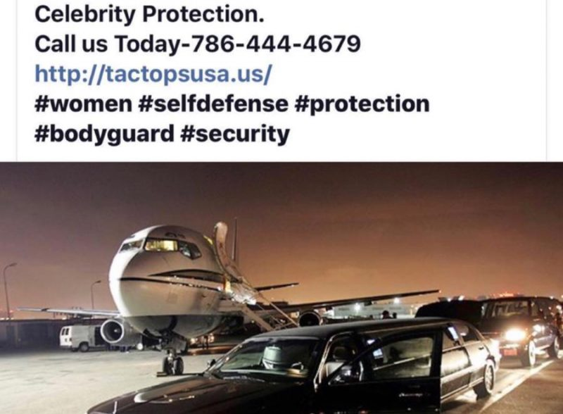 Executive Celebrity Protection Tactopsusa