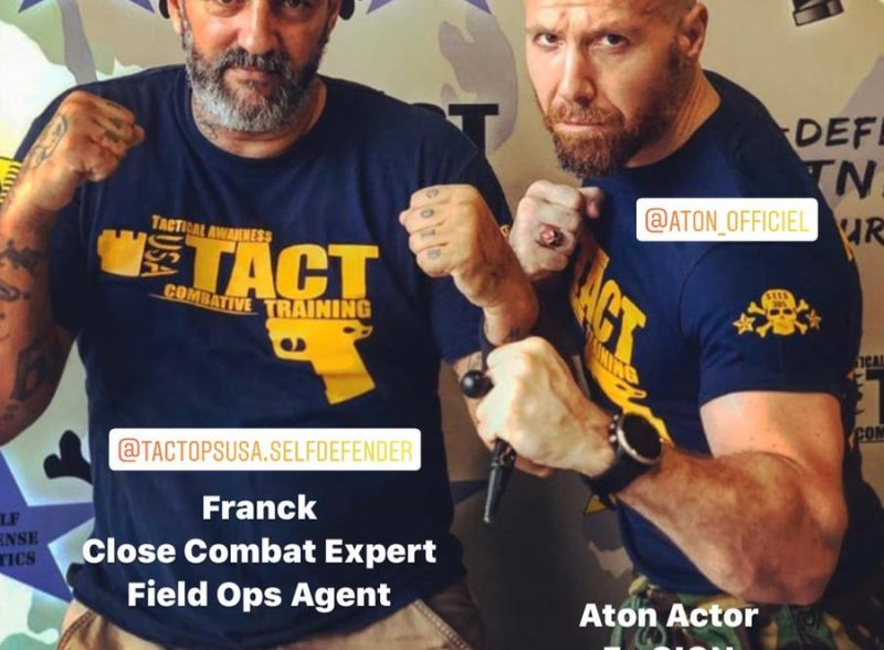 Franck Pala Close combat Expert Miami