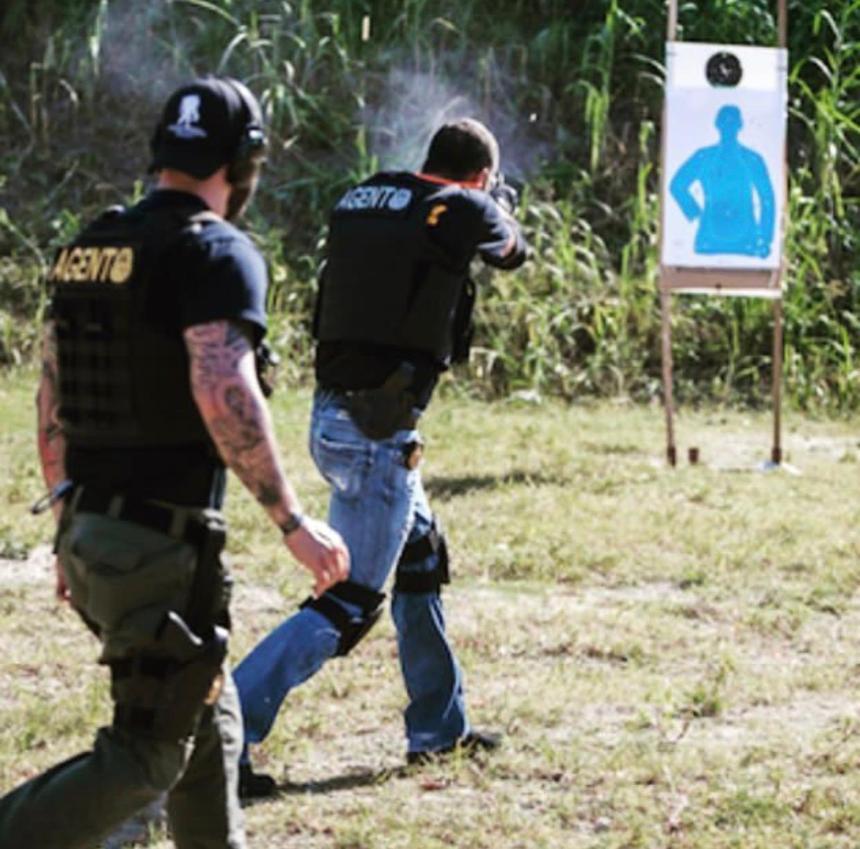 close combat defense shooting simunition USA