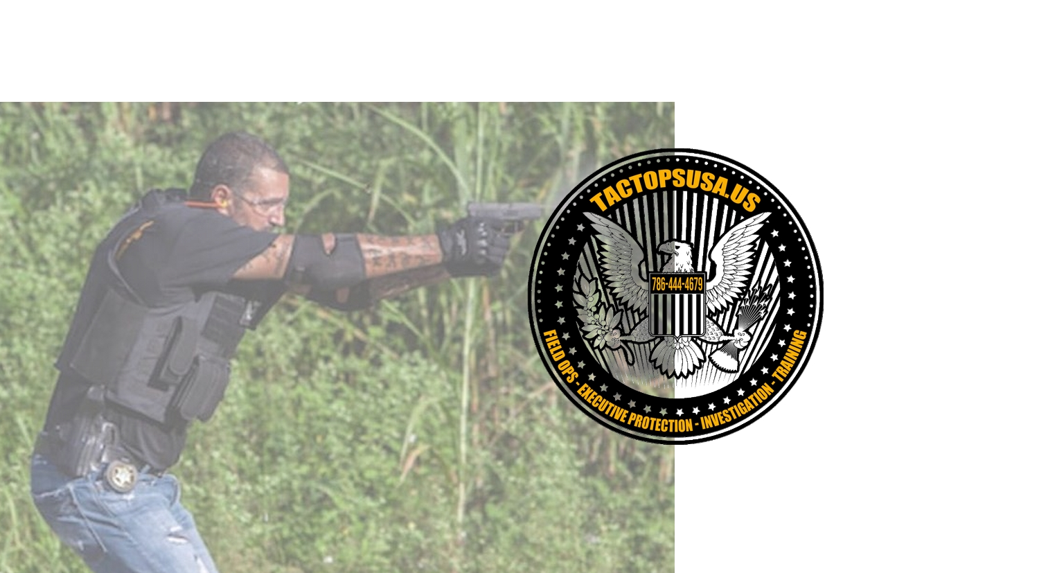 Tactopsusa Firearms Training Self-defense Simunition Range Miami
